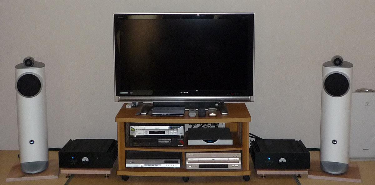 2012年12月のオーディオシステム